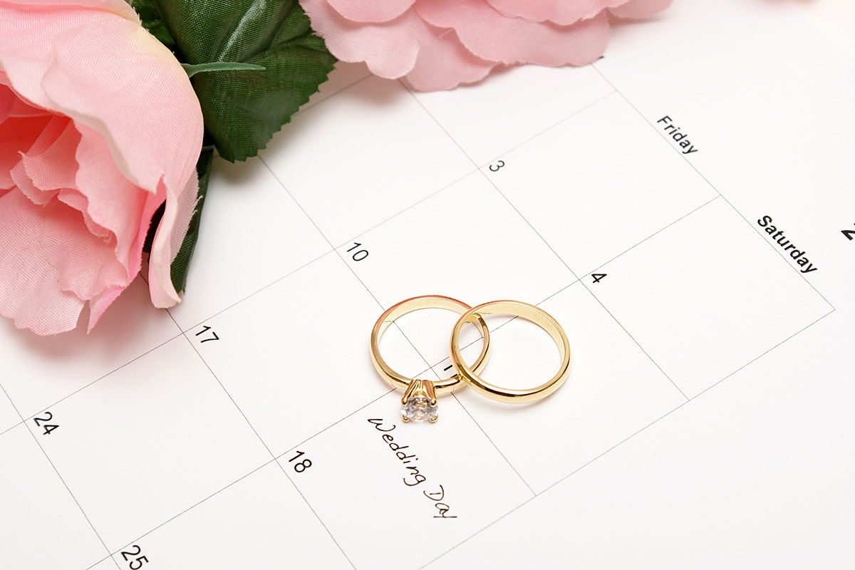 Wedding Ring Calendar